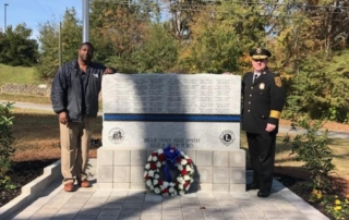 Dekalb County Police Fallen Officers Memorial Monument