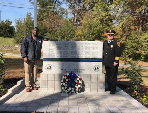 Dekalb County Police Fallen Officers Memorial